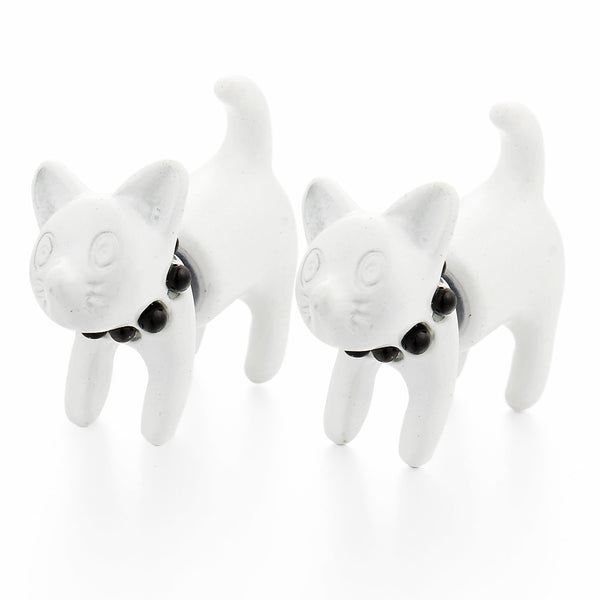 Cat Stud Earrings - primatrends.com