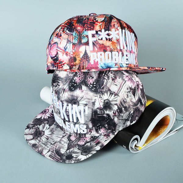 F**Kin Problems Snapback Cap - primatrends.com