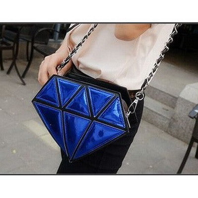 Diamond Hologram Shoulder Bag - primatrends.com
