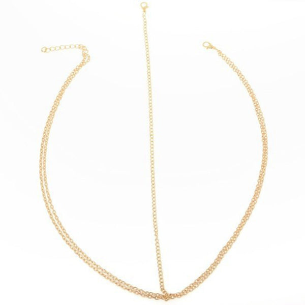 Gold Boho Style Hair Chain - primatrends.com
