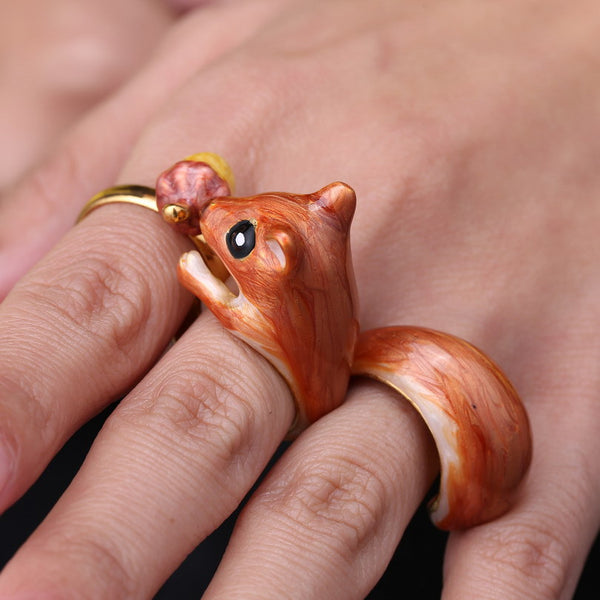 Squirrel Ring Set - primatrends.com