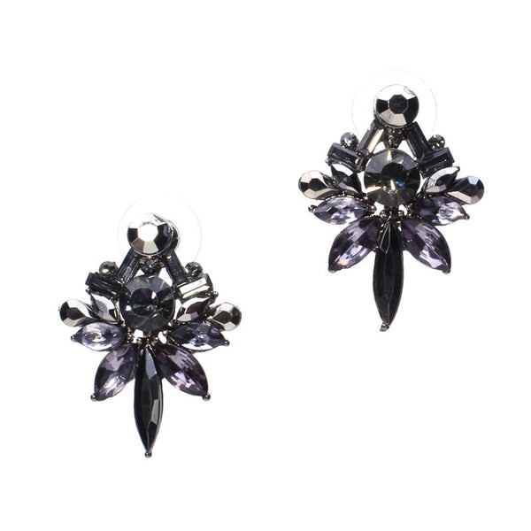 Aurora Crystal Stud Earrings - primatrends.com