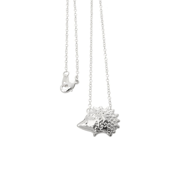 Delicate Hedgehog Pendant Necklace - primatrends.com
