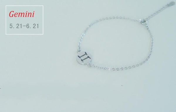 Zodiac Horoscope Constellation Charm Bracelet - primatrends.com