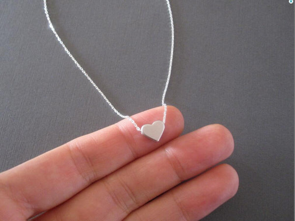 Delicate Heart Pendant Necklace - primatrends.com