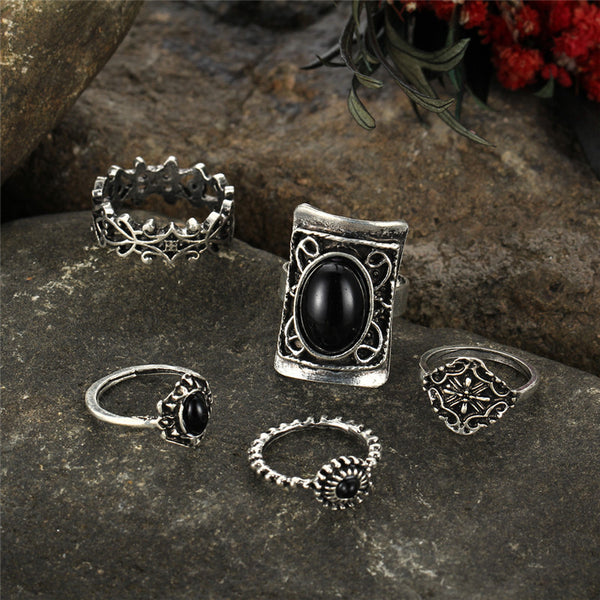 Boho Style 5pcs Ring Set - primatrends.com