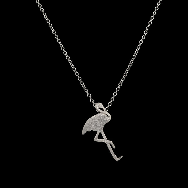 Delicate Flamingo Pendant Necklace - primatrends.com