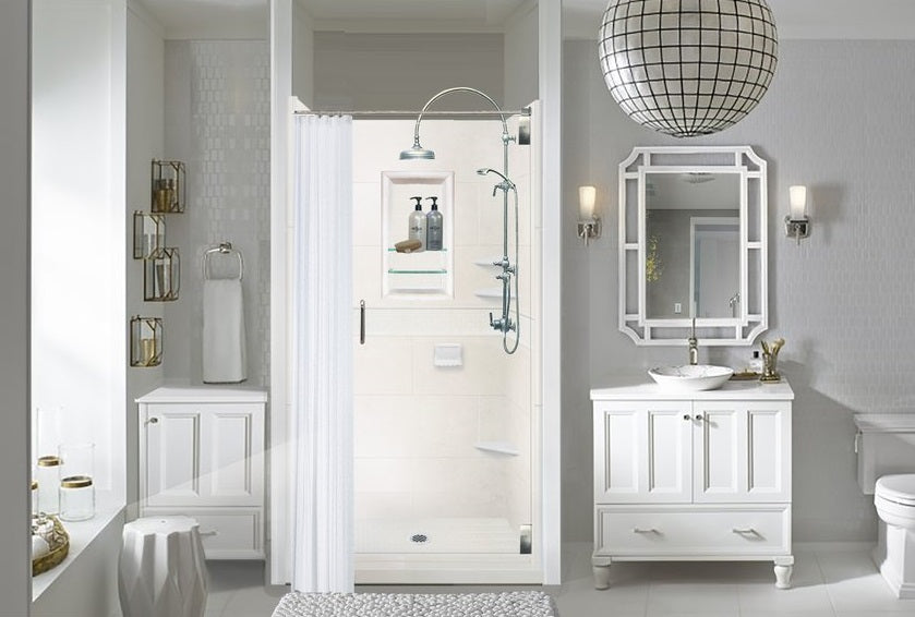 #1 Choice For The Classic Shower Design Is All Natural Buff. The Natural  Buff Tone On The Walls And Accent With Our Classic Style Is A Perfect  Introductory ...