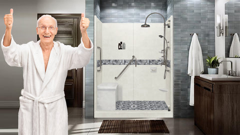 Health Experts Have Identified Challenges Seniors Face In A Bathroom Such  As: