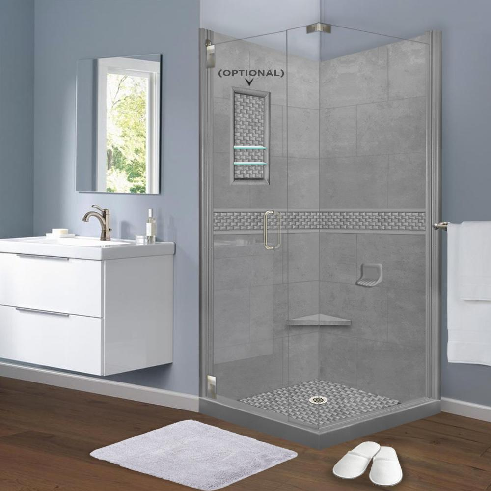 Jewel Corner Shower Kit Style & Color Options