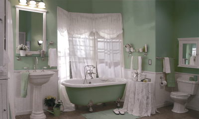 Splash of Color Upgrade  Bathtub - American Bath Factory