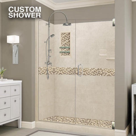 Custom Showers Your Way (Includes: Alcove Pan, Walls, Thresholds, and Optional Glass)