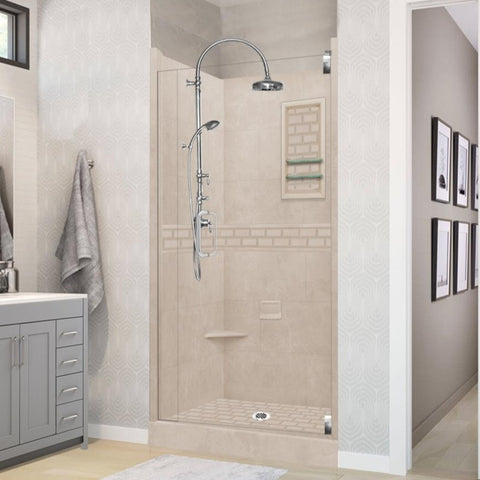 Subway Brown Sugar Small Alcove Shower Kit