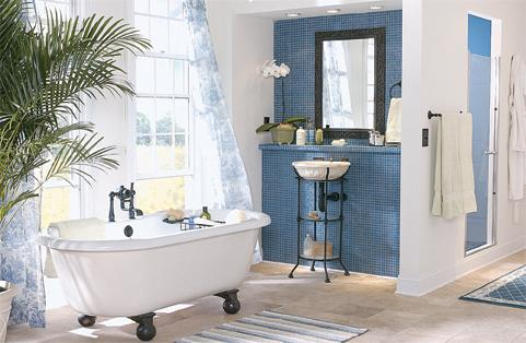 Double Ended Clawfoot Bathtub
