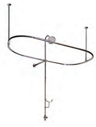 F4400 Bathtub Side Shower Enclosure  Bathtub Detail - American Bath Factory