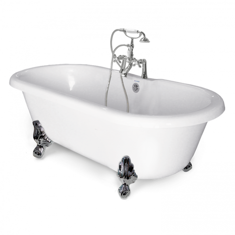 Double Ended Clawfoot Bathtub - American Bath Factory