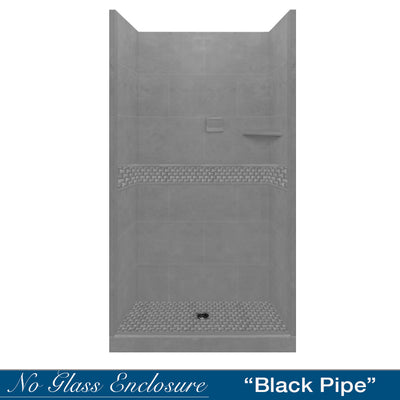 Jewel Wet Cement Small Alcove Shower Kit