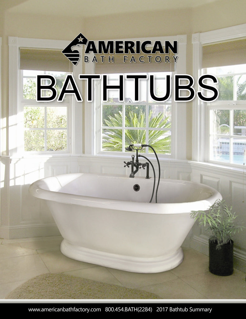 Bathtub Order Guide  Brochure - American Bath Factory