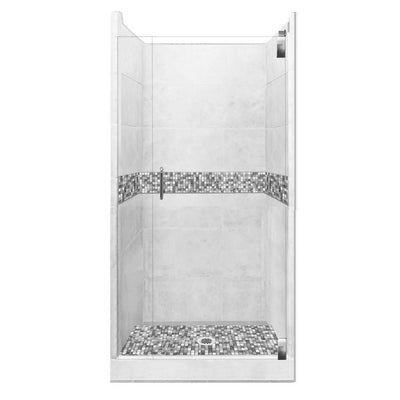 Mosaic Alcove Shower Kit Style & Color Options  Shower Kit - American Bath Factory