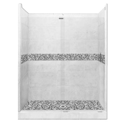 "60"" Alcove Shower Kit Style & Color Options  Shower Kit - American Bath Factory"