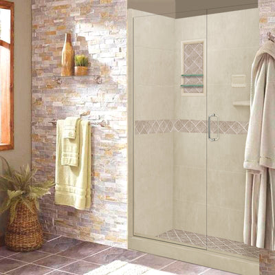 "Diamond Desert Sand 60"" Alcove Shower Kit"