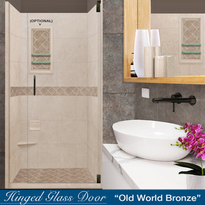 Diamond Brown Sugar Small Alcove Shower Kit