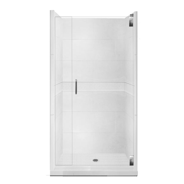 Classic Alcove Shower Kit Style & Color Options