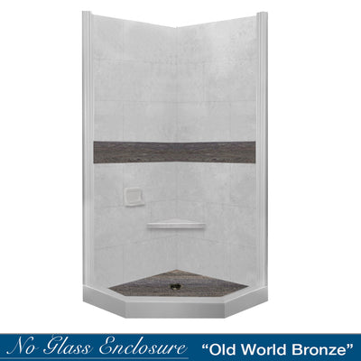 Seasoned Wood Portland Cement Neo Shower Kit
