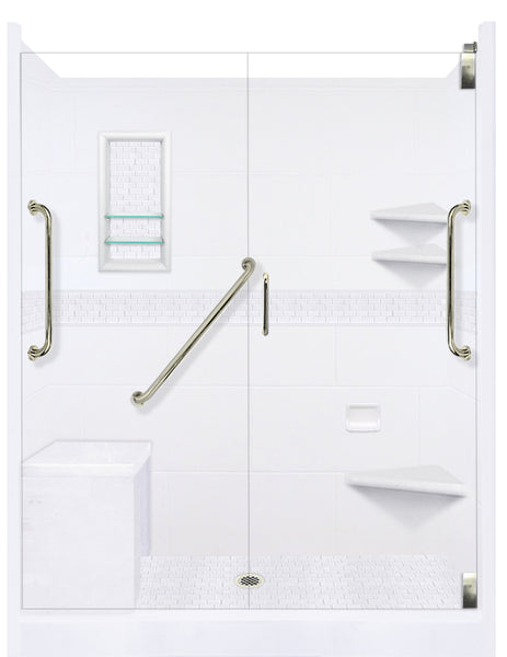 Classic Freedom Alcove Shower Kit  Shower Kit - American Bath Factory