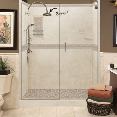 "Designer Collections Desert Sand ""Alcove Grand Shower Kits""+ FREE SHAMPOO BOX. Price below have been Discount 15%"