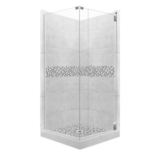 Mosaic Corner Shower Kit Style & Color Options - American Bath Factory