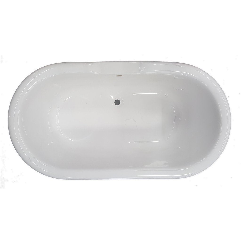 Pedestal Double Ended Bathtub American Bath Factory