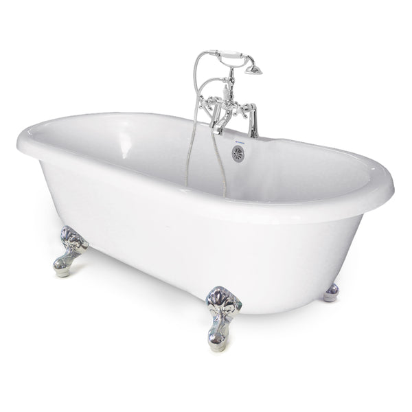 "Chelsea Double Ended 60"" Clawfoot Bathtub  Bathtub - American Bath Factory"
