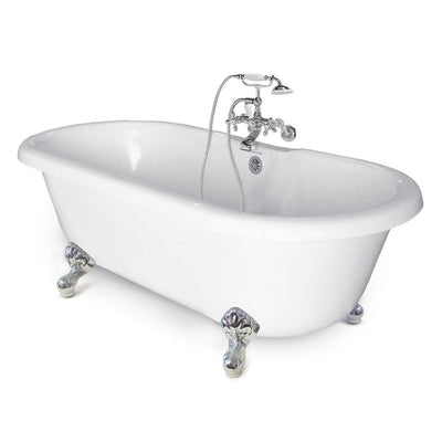 Clawfoot Double Ended Bathtub  Bathtub - American Bath Factory