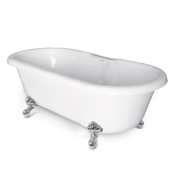 Double Ended Clawfoot Tub