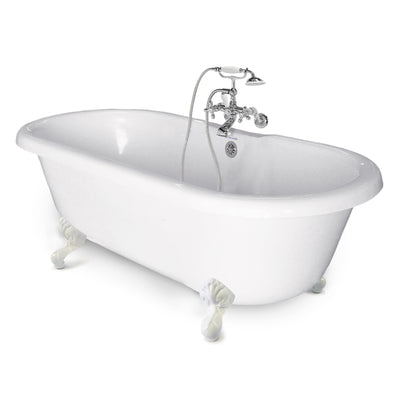 "Clawfoot Double Ended Chelsea - ""Value Package Bathtub""  Bathtub - American Bath Factory"