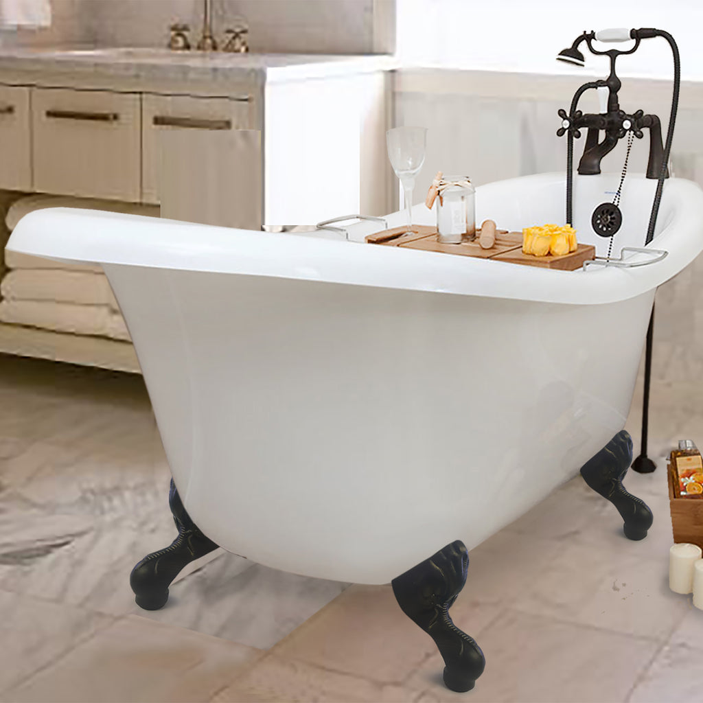 Chelsea Slipper Clawfoot Tub – American Bath Factory