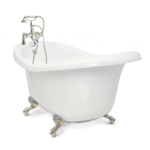 Chelsea Slipper Clawfoot Bathtub - American Bath Factory