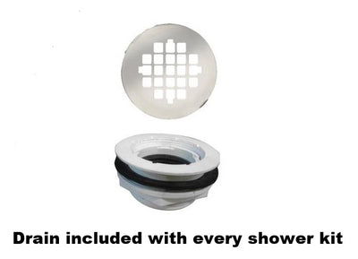 Alcove Jewel Shower Kit  Shower - American Bath Factory