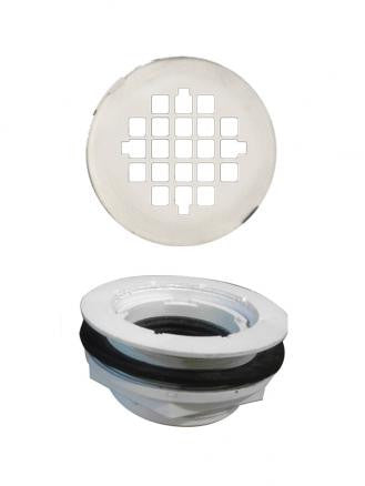 Shower Drain Assembly with Strainer  Shower Detail - American Bath Factory