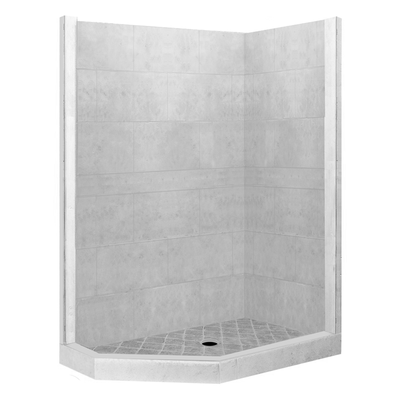 4x4 Neo Shower Kit Style & Color Options  Shower - American Bath Factory