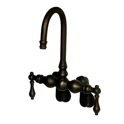 F300B Wall/Tub Mount Goose Neck Faucet  Faucet - American Bath Factory