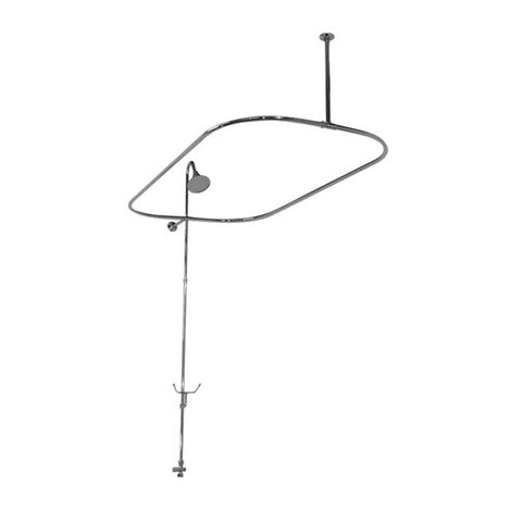 F4200 Bathtub End Shower Enclosure - American Bath Factory