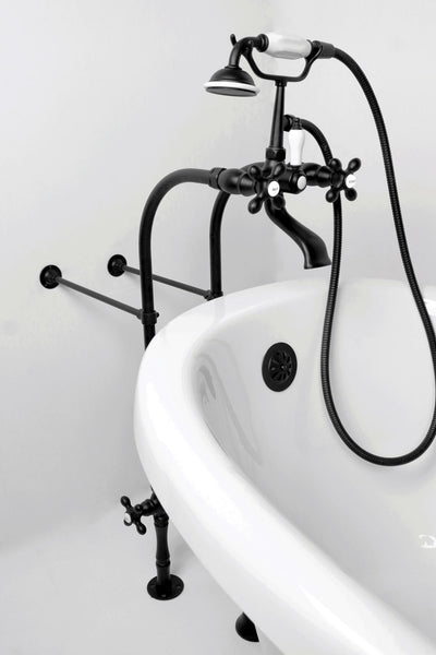 F900C Free Standing Floor Mount Faucet  Faucet - American Bath Factory