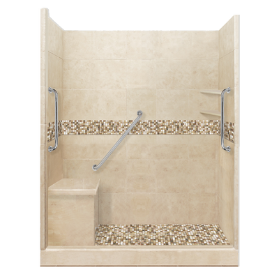 Alcove Freedom Package Upgrade  Shower Detail - American Bath Factory