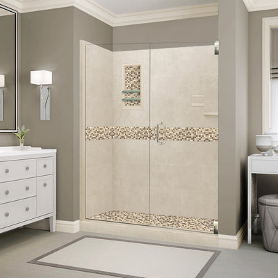 "Roma Mosaic Desert Sand 60"" Alcove Shower Kit"