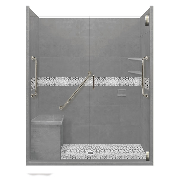 "Freedom Access 1"" Threshold Collection Del Mar Alcove Shower Kit"
