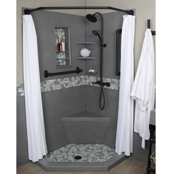 Freedom Industrial Collection Newport Neo Shower Kit - American Bath Factory