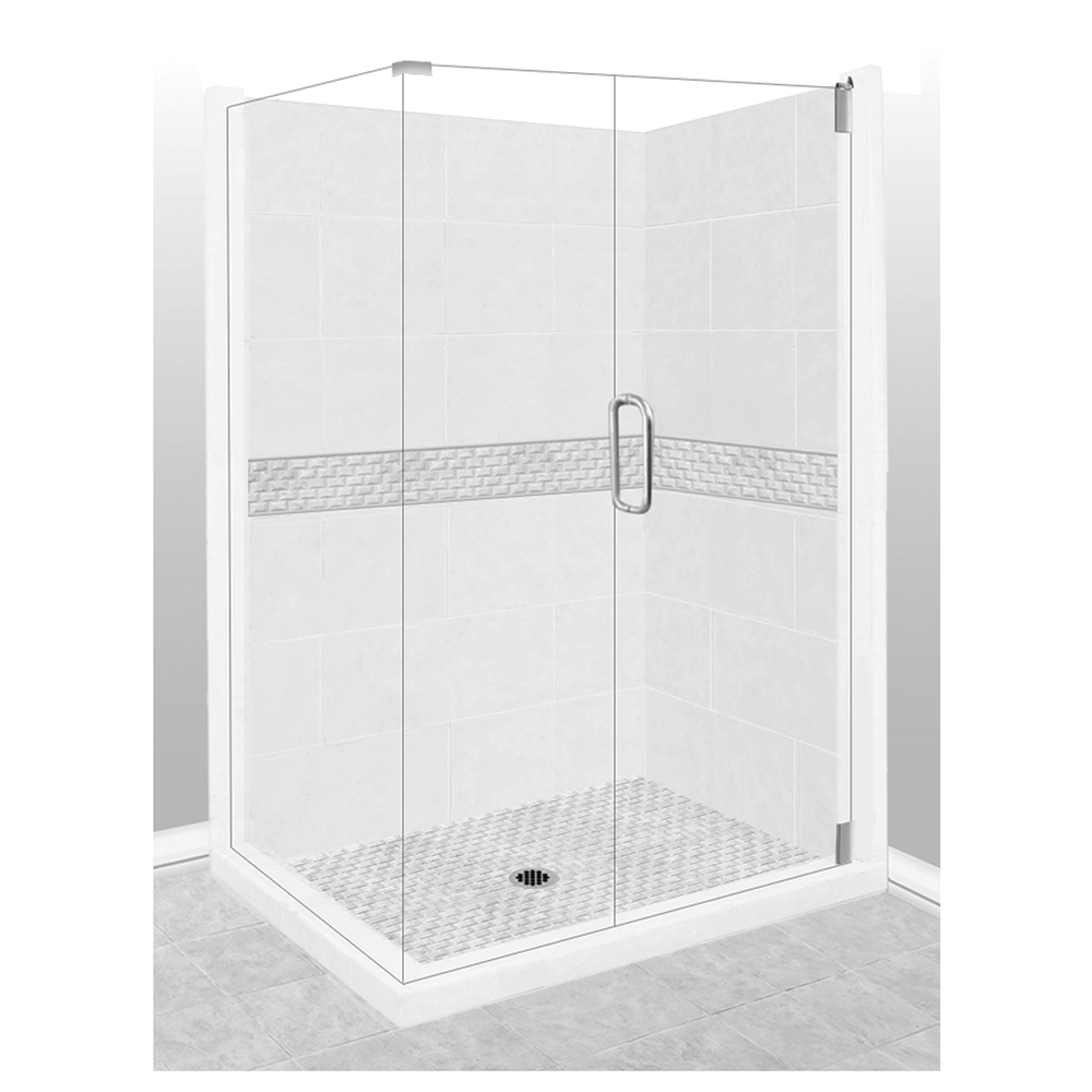 Jewel Corner Shower Kit Style & Color Options  Shower Kit - American Bath Factory