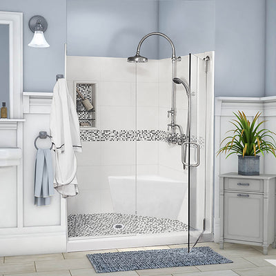 Add On Corner Shower Bench  Add On - American Bath Factory